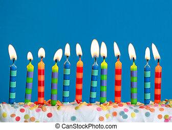 candles, fødselsdag