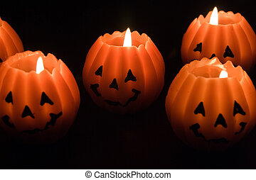 Candles for halloween