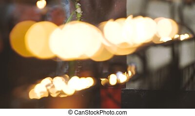 Candles in Dominican Church