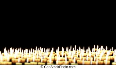 Candles in the night, Holiday Bg - Candles in the night,...