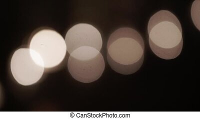 Candles light blur bokeh abstract