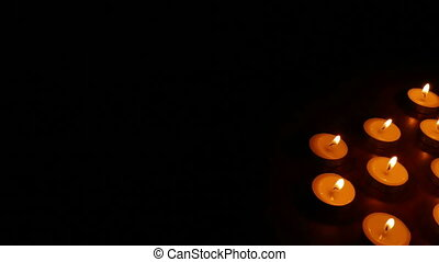 candles romance - burn candles romantic scented still-life...