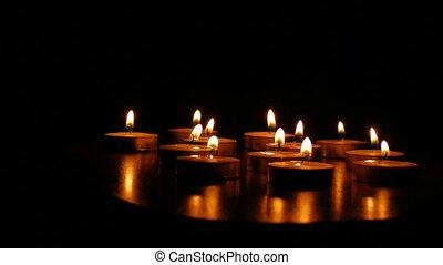 candles romance