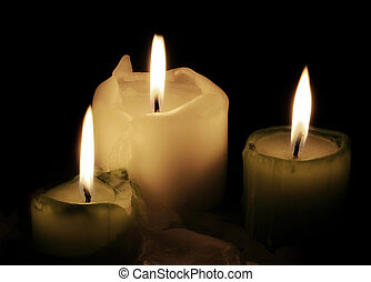 Candles - Three candles