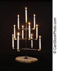 Candlestick in the form of a Christmas tree