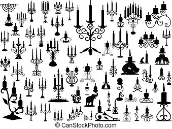 Candlesticks  - collection of isolated candlesticks
