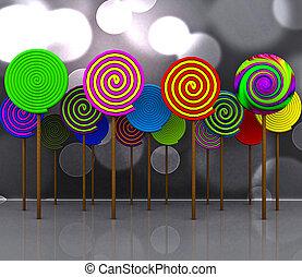 Candy - 3D