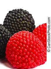 Candy blackberries