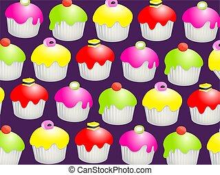 Candy Bun Wallpaper