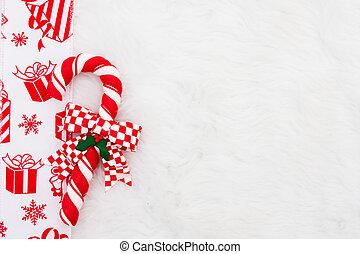 Candy Cane Border
