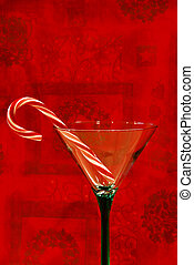 Candy Cane - Christmas Cheer- A candy cane in a pretty...