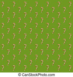 Candy Cane Pattern Background - Vector stock of candy cane ...