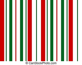 Seamless Repeating Geometric Christmas Pattern that is a mechanical stripe easily scaled for digital and merchandise projects