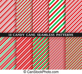 Candy cane stripe seamless pattern. Christmas texture. ...