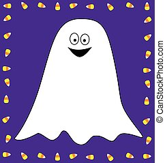 Candy Corn Ghost