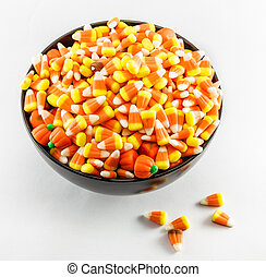 Candy Corn In A Bowl
