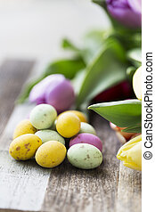 Candy Easter Eggs Vertical