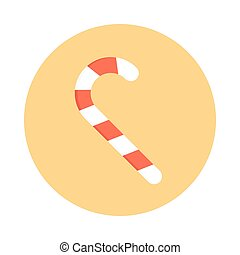 candy glyphs color circle icon