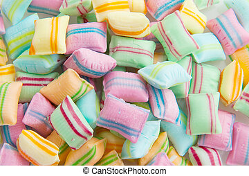 Candy in many colors