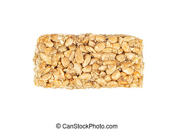 Candy kozinaki from sunflower seeds