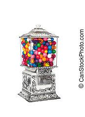 Candy Machine - A 1950's retro vintage candy machine ...