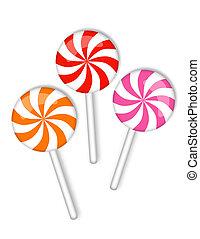 candy on a stick - sweetmeats
