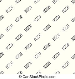 Candy pattern vector seamless