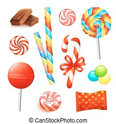 Candy Realistic Set