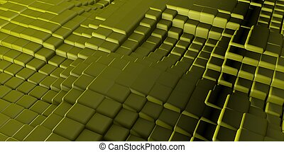Candy Square Blocks Abstract Background