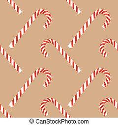 Candy sticks with striped print, Christmas xmas winter ...