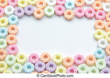 Sugar Sprinkles - Candy Sugar Sprinkles Pastel Color