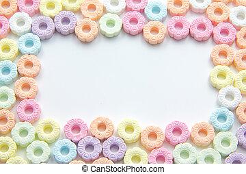 Sugar Sprinkles - Candy Sugar Sprinkles Pastel Color