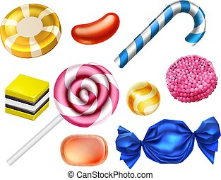 Candy Sweets Set