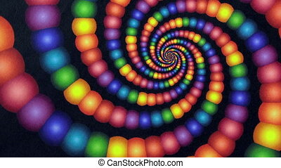 Candyland Rainbow Color Vortex