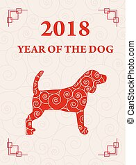 cane, cinese, anno