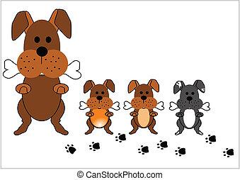 cane, famiglia
