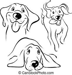 cane, illustrazione