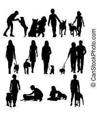 cane, persone