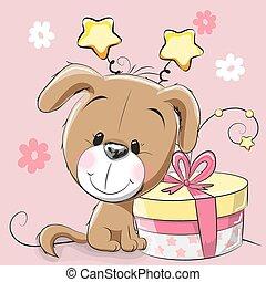 cane, regalo