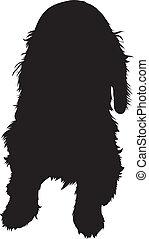 cane, silhouette