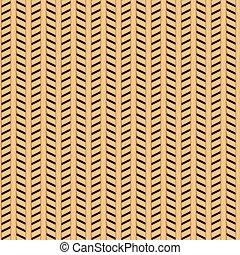 Cane wicker parquet seamless pattern