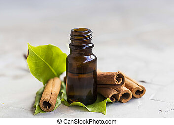 canela, óleo essencial