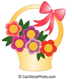 canestro fiore