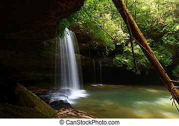 Caney Creek Falls in Alabama