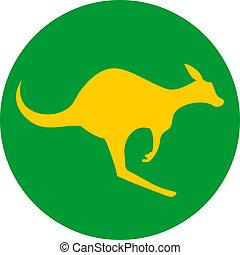 canguru, ícone