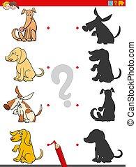 cani, animale, gioco, uggia, caratteri