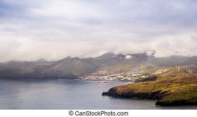 Canical, Madeira - Canical, view from Ponta de Sao Lourenco,...