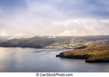 Canical, view from Ponta de Sao Lourenco, Madeira, Portugal