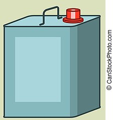 Canister - Illustration of the canister icon