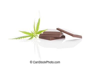 Cannabis chocolated.